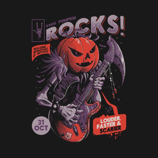 Rock Pumpkin
