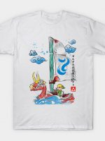 Sailing with the Wind Watercolor T-Shirt