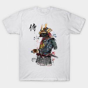 Samurai Watercolor T-Shirt