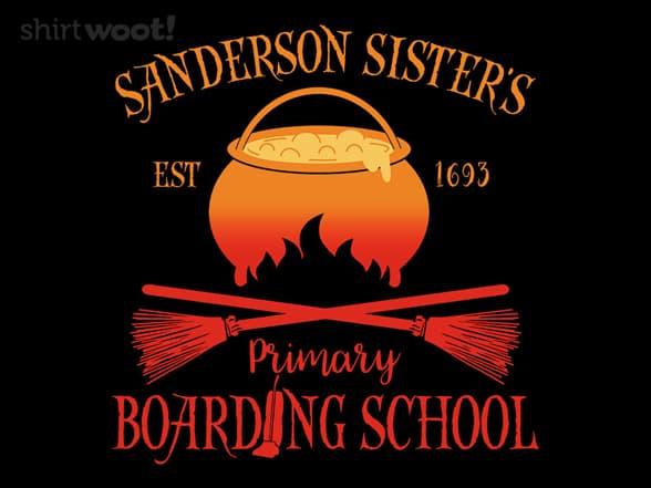 Sanderson Sister's Boarding School