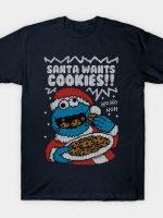 Santa's Cookies! T-Shirt