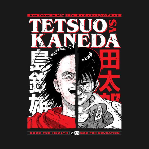 Tetsuo VS Kaneda