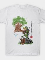 The Great Deku Watercolor T-Shirt