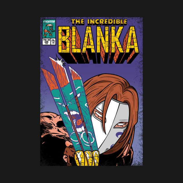 The Incredible Blanka!