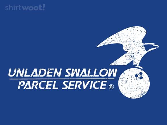 Unladen Swallow Parcel Service
