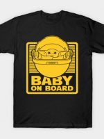 50 year old baby on board T-Shirt