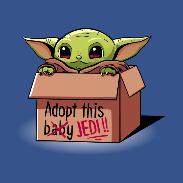 Baby Yoda - Adopt a baby