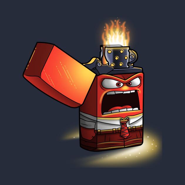 Angry lighter