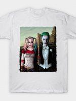Arkham Gothic Alt Background T-Shirt
