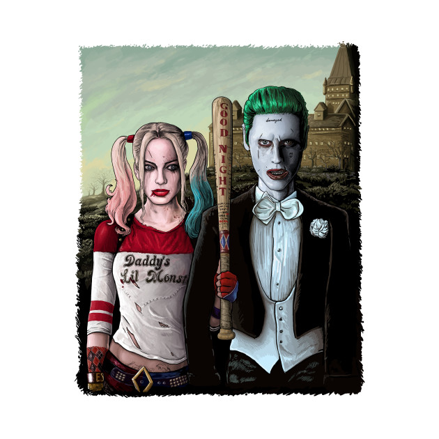 Arkham Gothic Alt Background