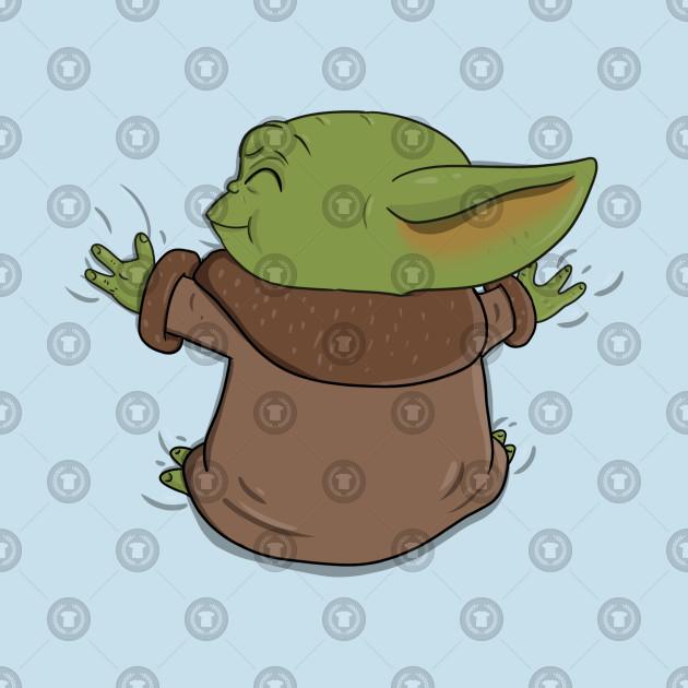 Baby Yoda Hug