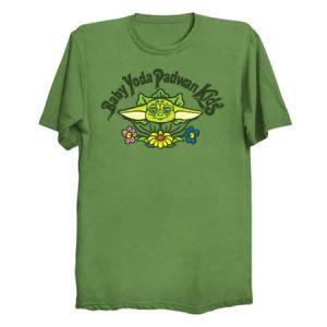 Baby Yoda Padwan Kids T-Shirt
