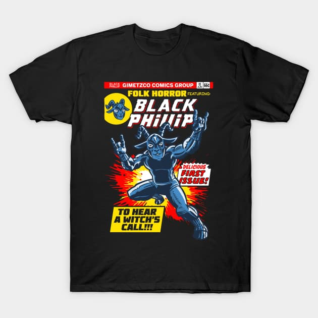 Black Phillip - first issue! T-Shirt