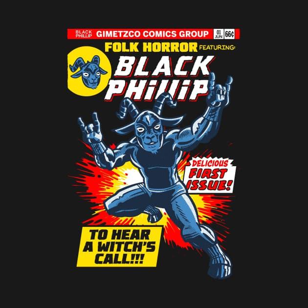 Black Phillip - first issue!
