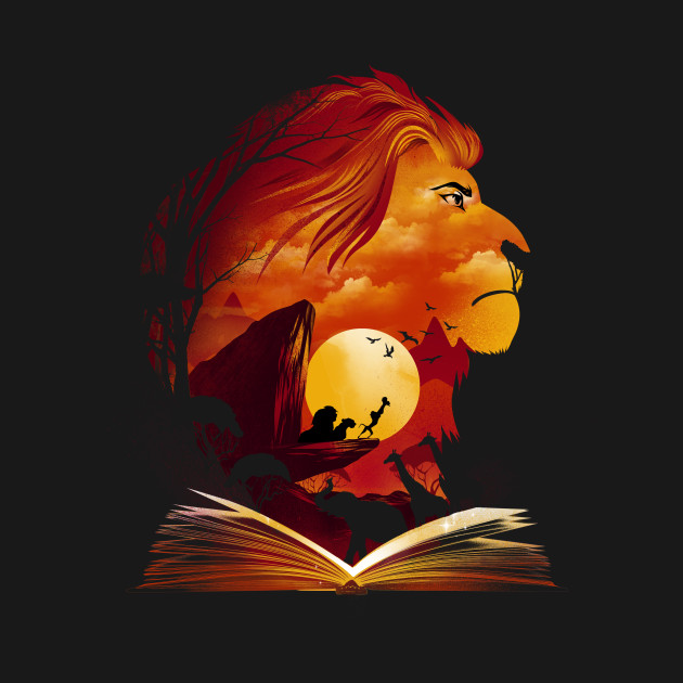 Book Of Pride Rock Lion King T Shirt The Shirt List