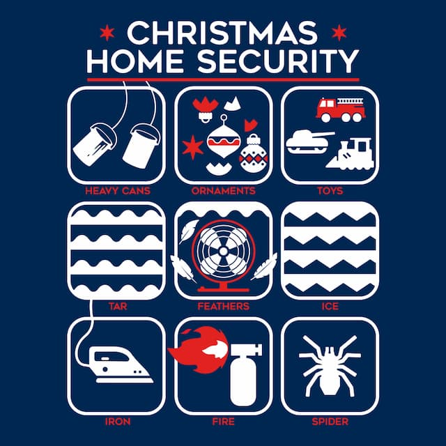 CHRISTMAS HOME SECURITY
