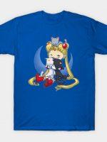 Crazy Moon Cat Lady T-Shirt