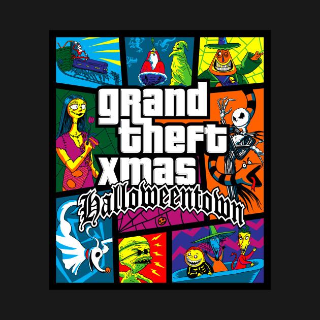 Grand Theft Xmas