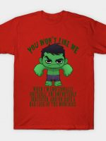 Green and Snarky T-Shirt