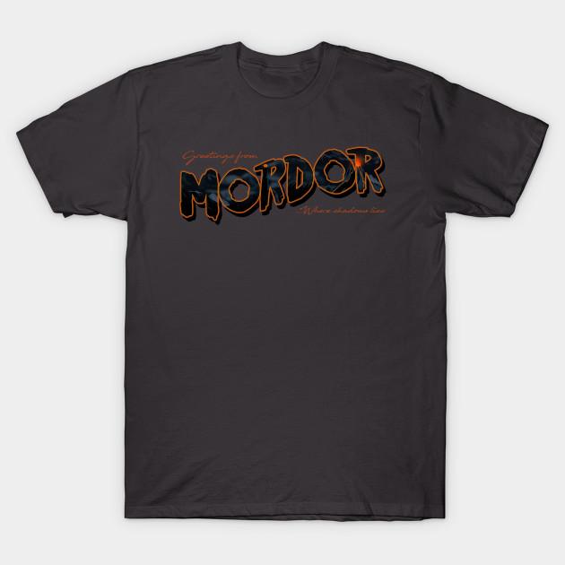 Greetings from Mordor