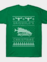 Griswold's Family Christmas (white version) T-Shirt