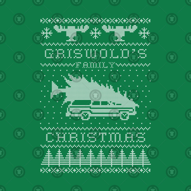 Griswold's Family Christmas (white version)