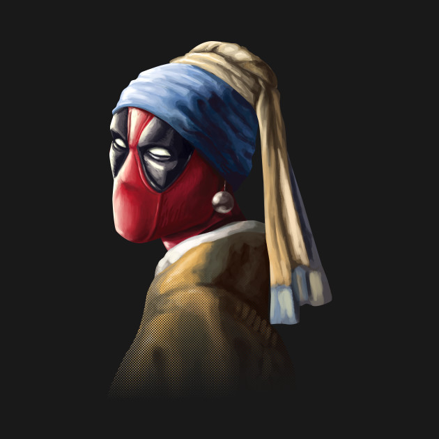 Hero with a pearl earring