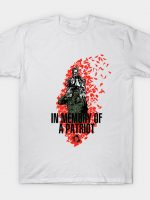 In Memory of a Patriot T-Shirt