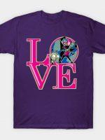 Invader LOVE T-Shirt
