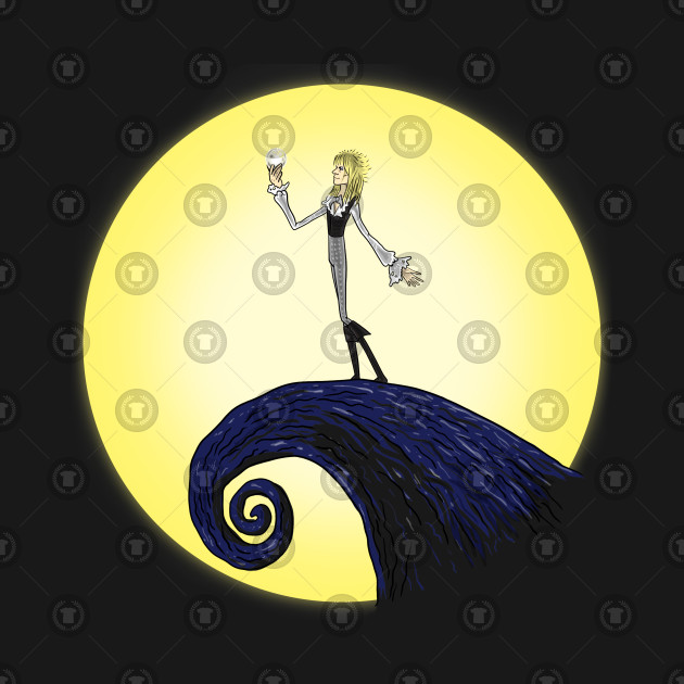 Jareth in the Moon