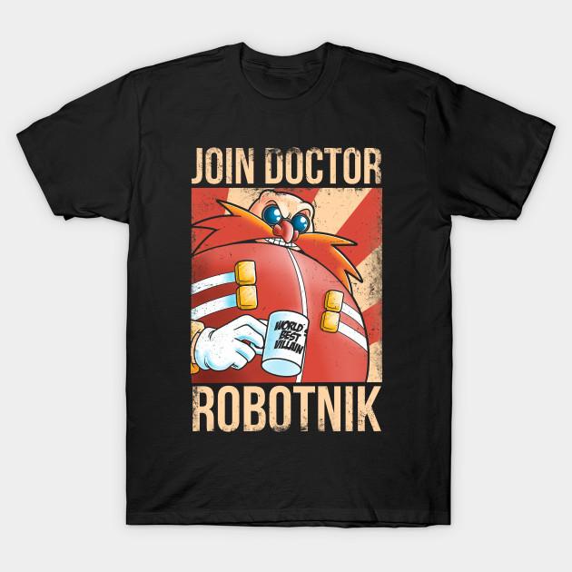 Join Dr Robotnik T-Shirt