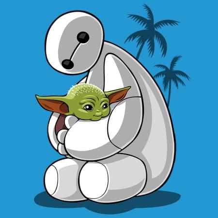 Baymax/Baby Yoda