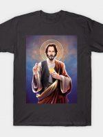 Keanu Reeves - Saint Keanu of Reeves T-Shirt