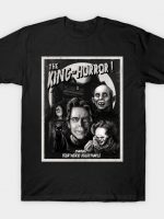 King of Horror mono T-Shirt