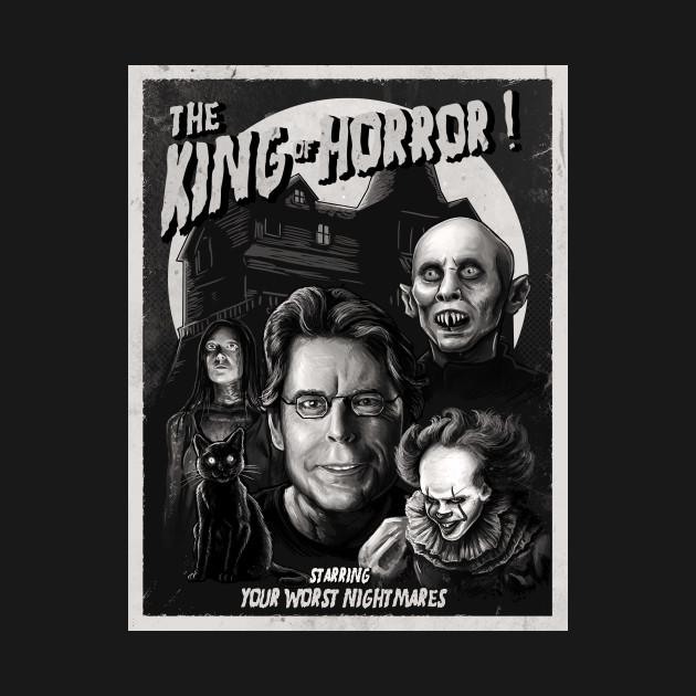 King of Horror mono