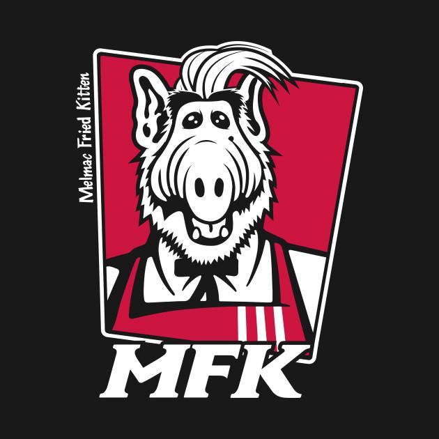 Melmac Fried Kitten