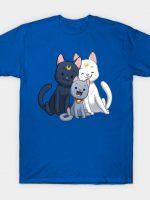 Moon Cat Family T-Shirt