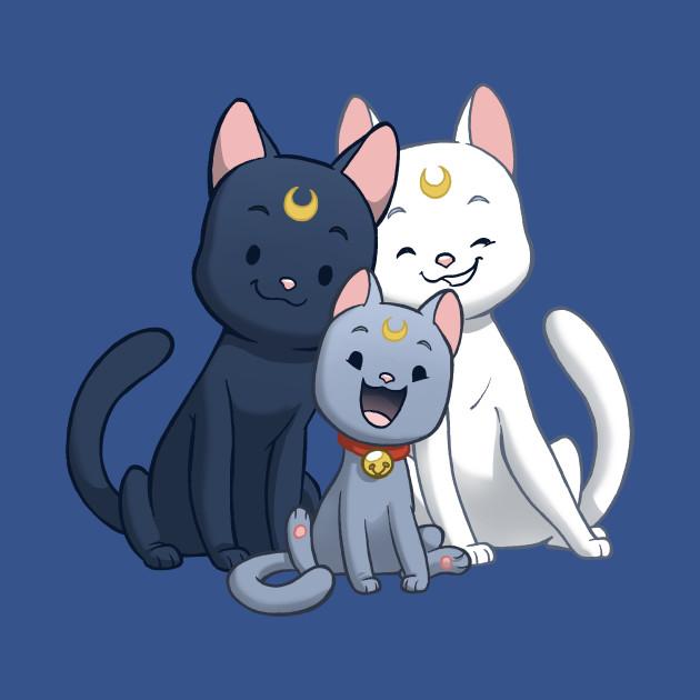 Moon Cat Family
