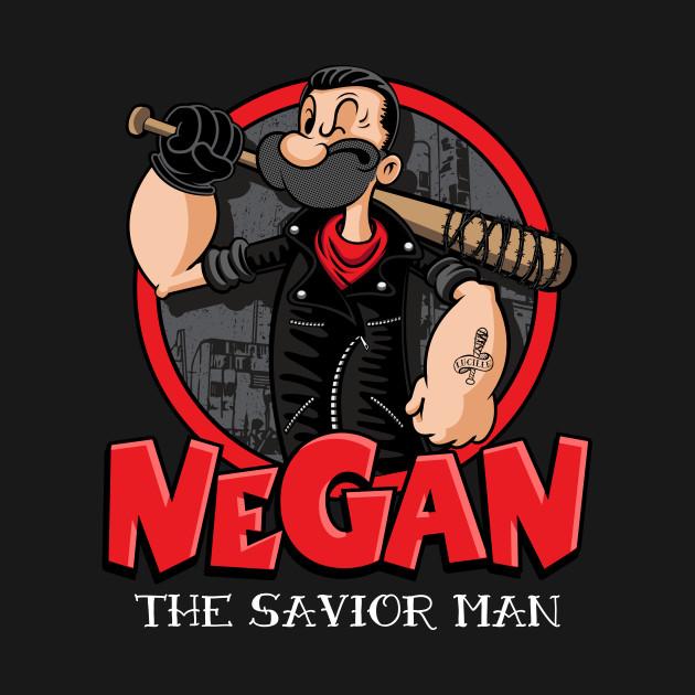 Negan The Savior Man