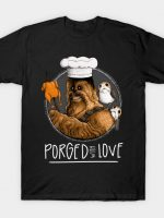 Porged Witha Love (black) T-Shirt