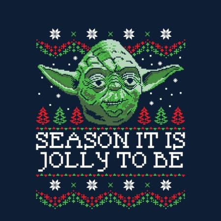 Season it is jolly to be