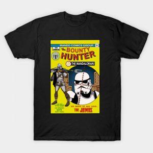 The Bounty Hunter Comic T-Shirt