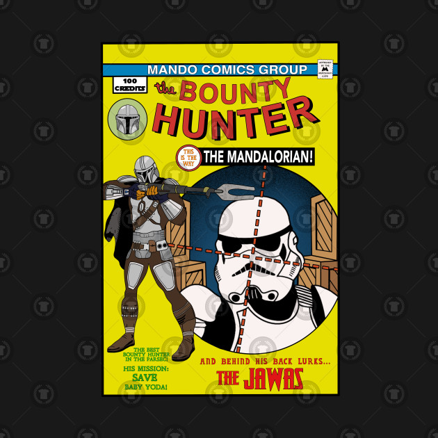 The Bounty Hunter Comic