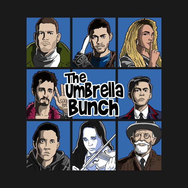 The umbrella Bunch (color)
