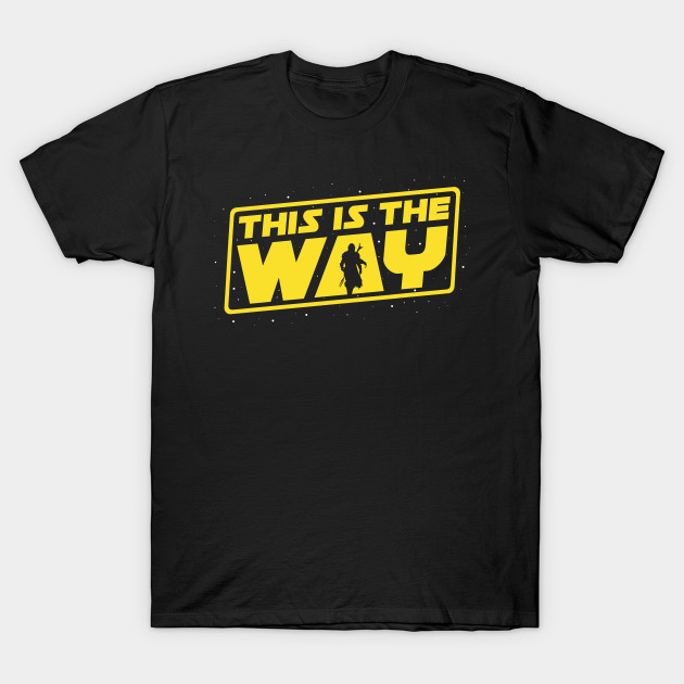 The Mandalorian This is the Way T-Shirt