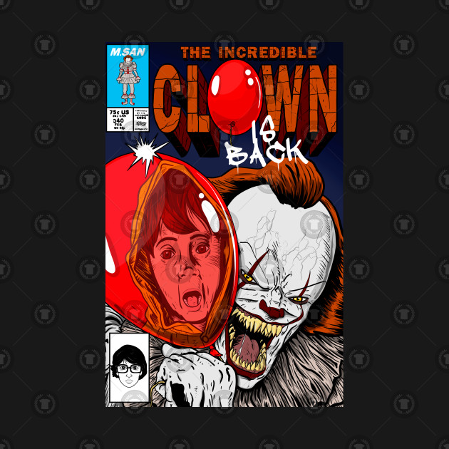 the incredible Clown