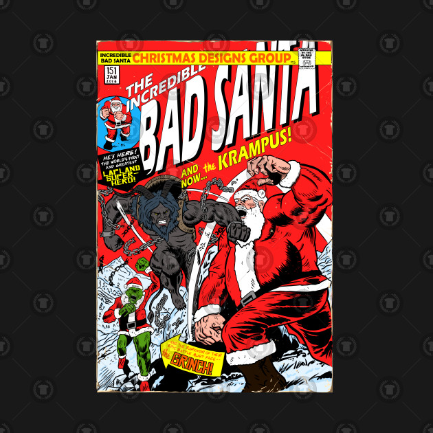 the incredible bad santa