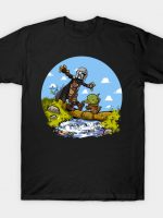 walking baby and mercenary T-Shirt