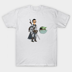 The Mandalorian/Bob's Burgers T-Shirt