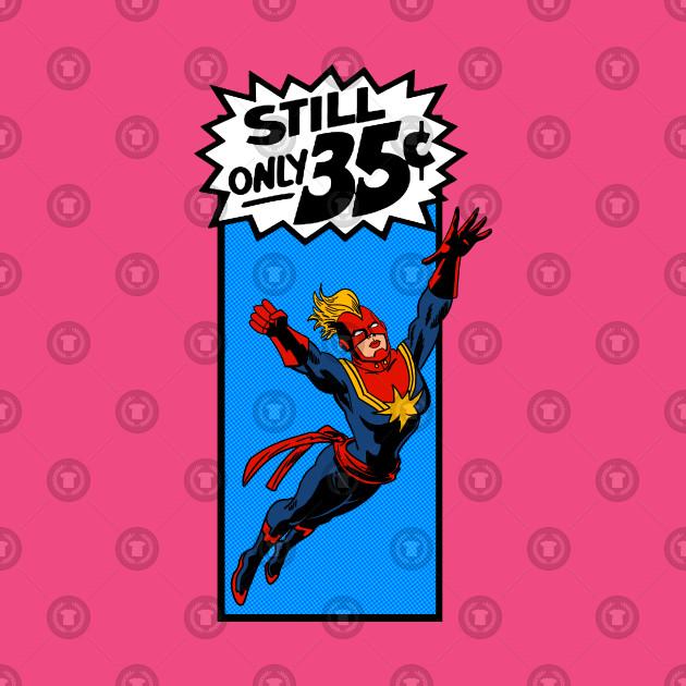 Captain Marvel Corner Box Art